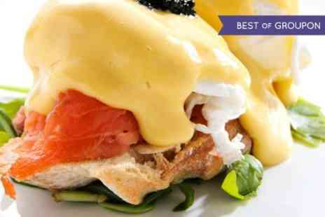The Cube -  Brunch With Prosecco For Two  - Save 42%