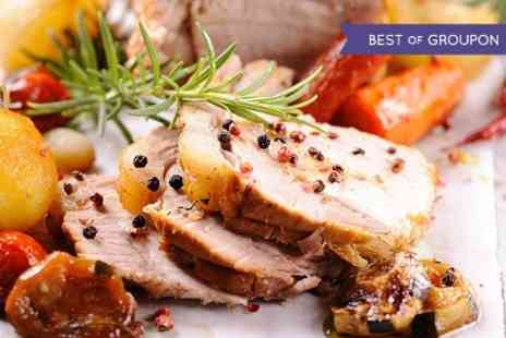 The Brass Pig - Sunday Roast With Wine For Two - Save 50%