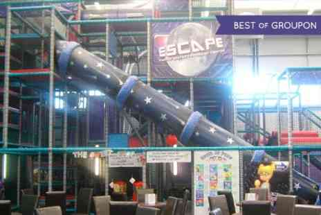 Escape Play - Soft Play Entry and Meal  - Save 0%