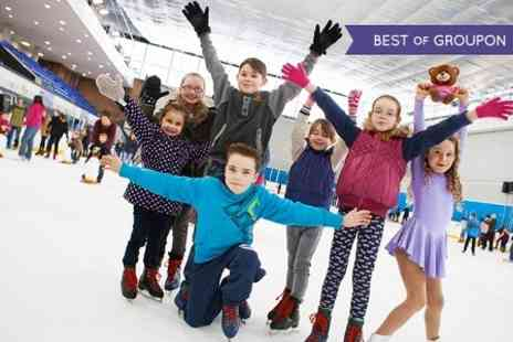 Billingham Forum Ice Rink - Ice Skating For Two - Save 53%