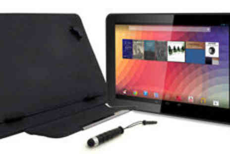 DJC Electronics - DJC Touchtab Lite 9 inch dual core Android 4.4 tablet bundle  plus delivery - Save 0%