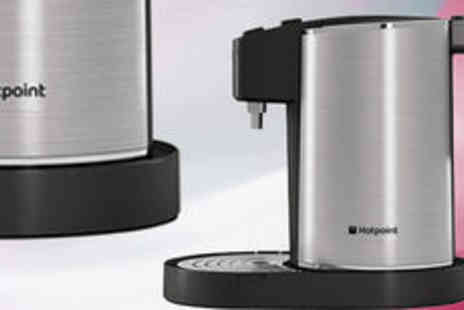 Crampton and Moore - Hotpoint WK30IAX0UK stainless steel instant kettle  FREE delivery - Save 0%