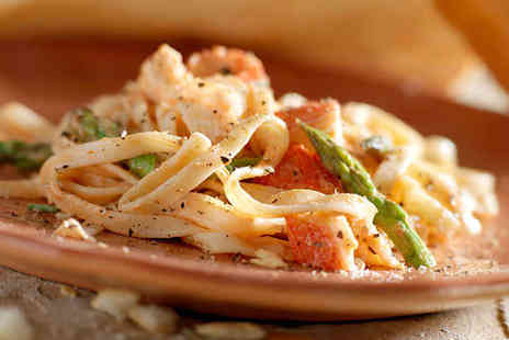 Tuttobene Italian Restaurant - Linguine Lobster For Two with a Glass of Wine Each - Save 0%