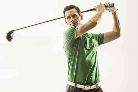 Hensol Golf Academy - One Hour Golf Simulator Session For Up to Four  - Save 0%