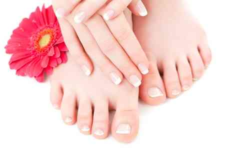 Beauty at Inches - Clear Polish Manicure or Pedicure  - Save 0%