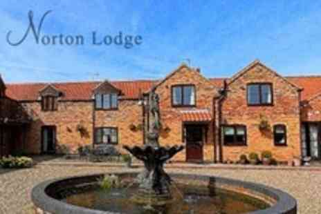 Norton Lodge - Two Night Stay For Two With Breakfast - Save 51%