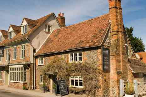 The White Hart - One Night break in country inn with breakfast and dinner - Save 56%