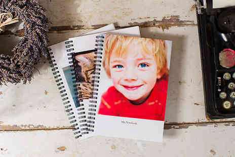 Huggler - Personalised A5 Photo Notebook - Save 54%