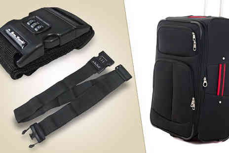 Quirky Online - Combination Lock Luggage Strap - Save 59%