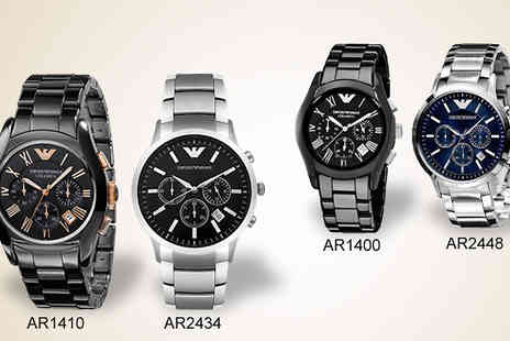 Designer Zone Watches - Mens Emporio Armani Watch - Save 14%