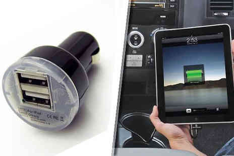 eGlobalShoppers - Dual USB Car Charger - Save 73%