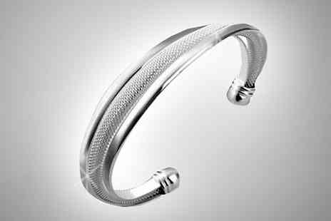 Finishing touch - Classic Mesh Bangle - Save 0%