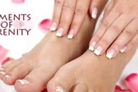 Elements of Serenity - One Hour Manicure or Pedicure - Save 60%
