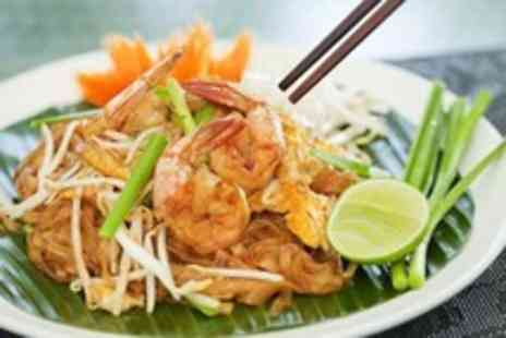 Thaisanuk - Thai dinner for two with soft drinks - Save 0%
