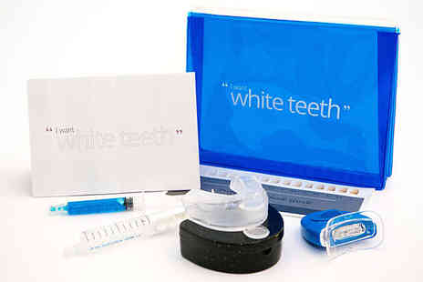 Bath Teeth Whitening - Home Teeth Whitening Kit Delivery Included - Save 84%