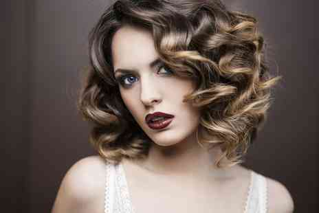 Visual hair and beauty - Cut and Blow Dry With Colour or Highlights - Save 0%