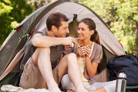 Yet Y  Gors fishery - Two, Three or Five Night stay Camping or Caravan Pitch For Two - Save 50%