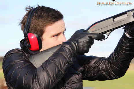 North East Shooting - Clay Pigeon Shooting Experience for One - Save 0%