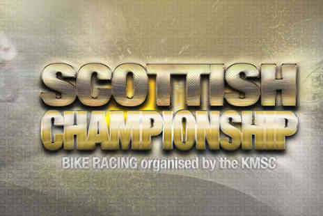 Knockhill Racing Circuit - Two Tickets for Scottish Championship Bike Racing - Save 47%
