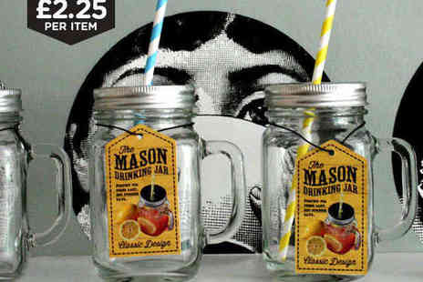 Mooch - Mason Drinking Jar  - Save 64%