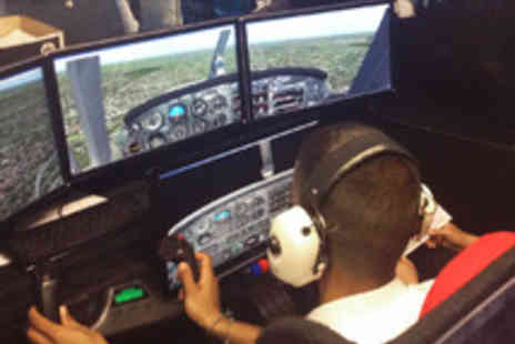 Fly By Light - 60 Minute Flight Simulator Experience with Professional Tuition - Save 51%