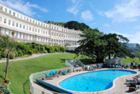 Osborne Hotel - Two Night Divine Devon Escape by the Sea  - Save 69%