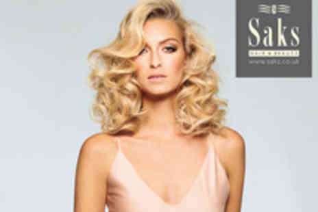 SAKS - A Choice of Haircut and Colour Services  - Save 63%