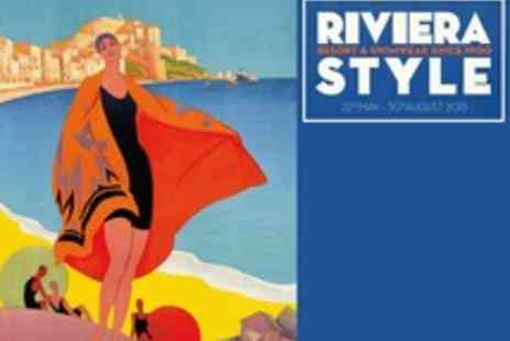 Fashion and Textile Museum - Tickets to Riviera Style at the Fashion and Textile Museum with an A3 King and McGaw poster - Save 51%