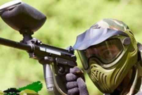 Paintball Commando - Paintballing Experience For Ten People With Lunch and 100 Paintballs Each - Save 96%
