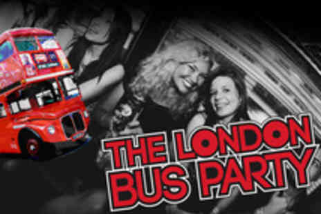 1 Big Night Out - London Party Bus Tickets with Entry to Four Clubs, Queue Jump and Travel - Save 52%