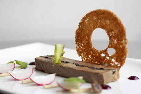 The Andaz Hotel  - Three AA Rosette Two Course Meal with Champagne for Two - Save 38%