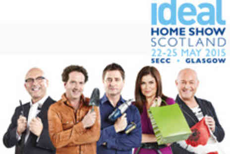 Ideal Home Show - Tickets to The Ideal Home Show Scotland - Save 42%