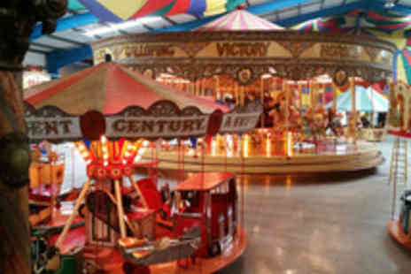 Dingles Fairground Heritage Centre - Family Entry to Dingles Fairground Heritage Centre with 10 Ride Tokens - Save 44%