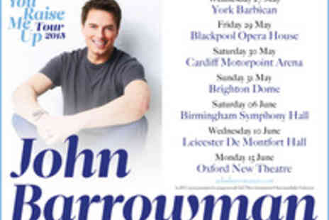 Ingresso - Tickets to John Barrowman   - Save 0%