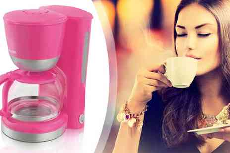 Giddy Aunt - Swan Coffee Maker in Pink or Blue - Save 70%