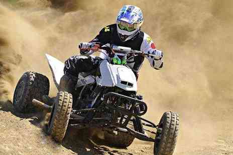 KJB Quadcross - Five mile quad biking experience for 1  - Save 67%