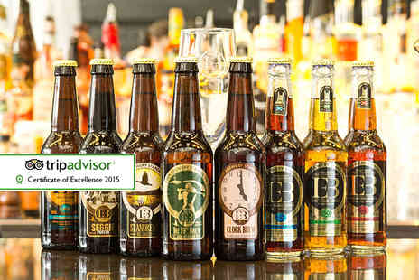 Eden Mill St Andrews -  75 minute craft brewery tour for two - Save 60%