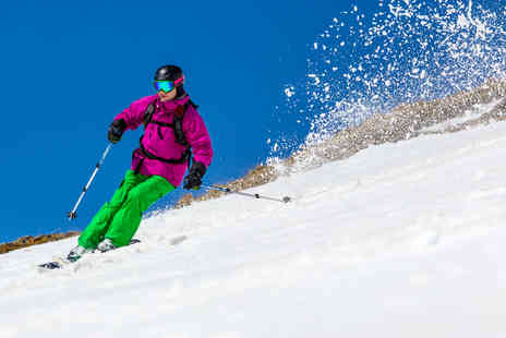 Skiplex - One hour ski or snowboarding lesson for one  - Save 57%