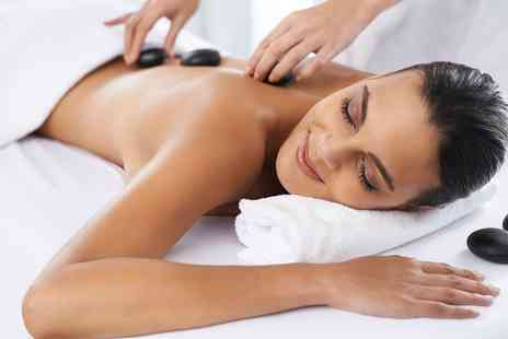 About Beauty - Full Body Swedish Massage or Hot Stone Back, Shoulders and Face Massage - Save 55%