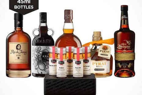 Flaviar - Rum Tasting Pack of Five and £10 Voucher to Flaviar with Delivery Included - Save 50%