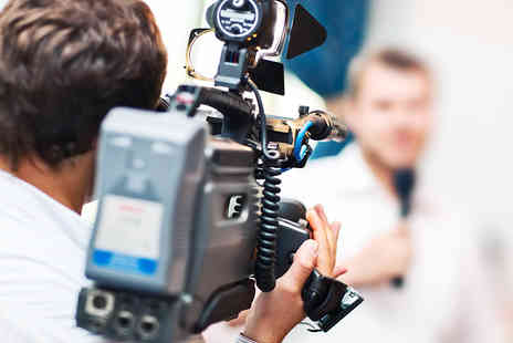 The Television Training Academy - One Day Video CV Course to Help Enhance Job Applications - Save 84%