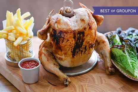 Clockjack Oven - Soho Main or Rotisserie Chicken With Sides or Beer For Two - Save 49%