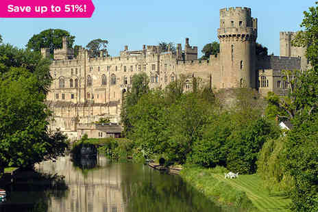 BEST WESTERN Salford Hall Hotel - A Break in Shakespeare's Birthplace and Day Tickets to Warwick Castle - Save 51%