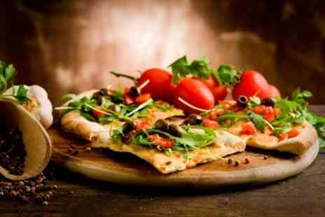 The Brasserie Pizza Pasta - Pizza Pasta Main For Two  - Save 60%