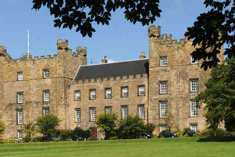Lumley Castle - One night stay  with afternoon tea  - Save 59%