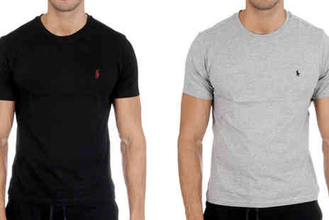 Intriangle Solutions - Ralph Lauren Men's Crew Neck T-Shirt - Save 55%