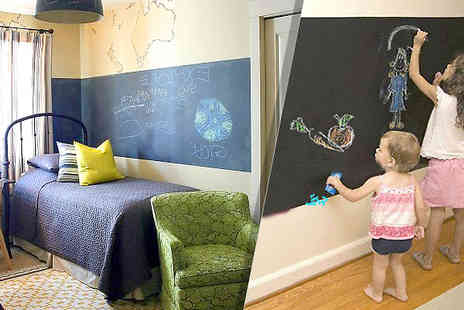 Treasure Box - Chalkboard Vinyl Wall Decal - Save 67%