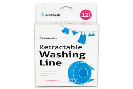 All Boxed Up - 12m Retractable Washing Line - Save 50%