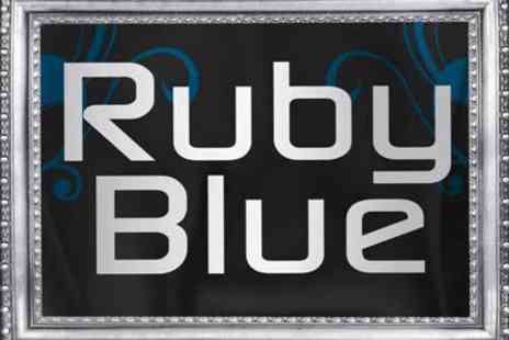 Ruby Blue - Three course meal & coffee for two - Save 36%