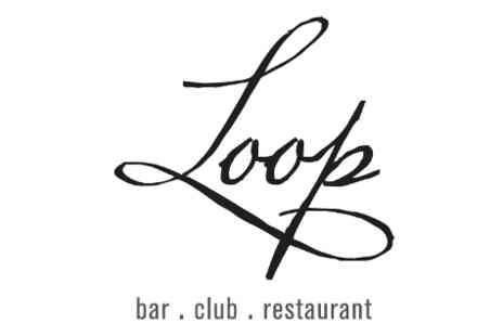 Loop Bar - Three course meal & coffee for two - Save 36%